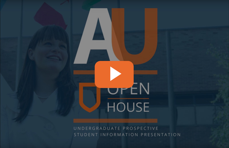 AU open house video